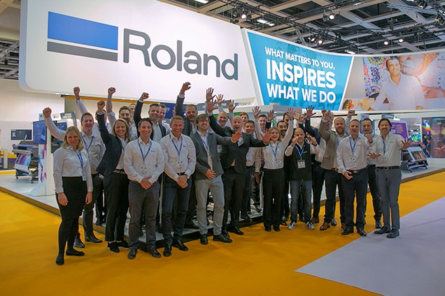 FESPA 2018 Roland DG Team Photo
