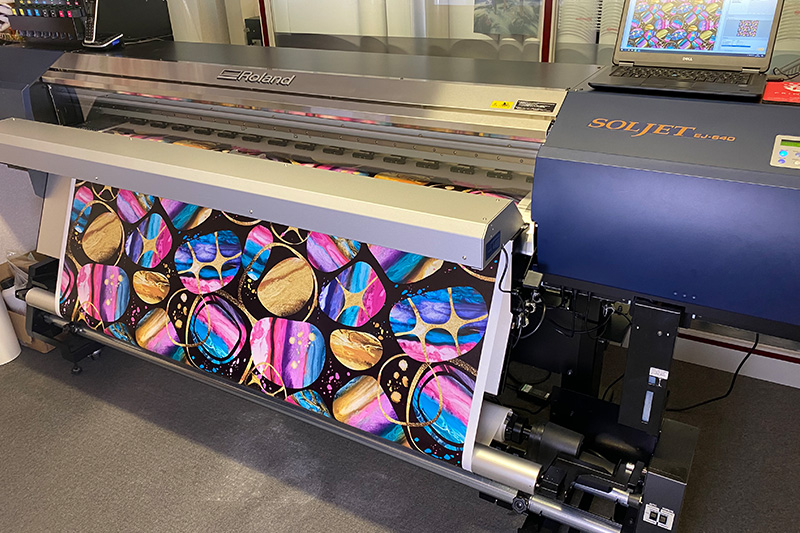 The Print Hive invest in a Roland EJ-640 DECO printer to produce sustainable, eco-friendly graphics