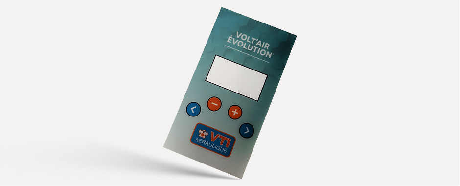 Printed control panels are just some of the new items offered by Qprint Osona