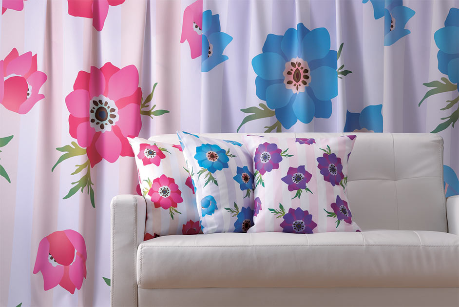textiles and soft furnishings