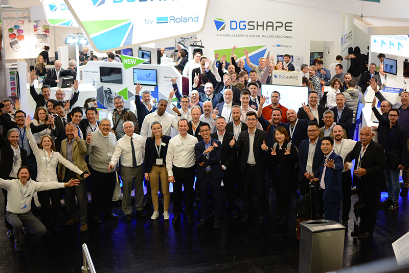 DGSHAPE Booth at IDS 2017