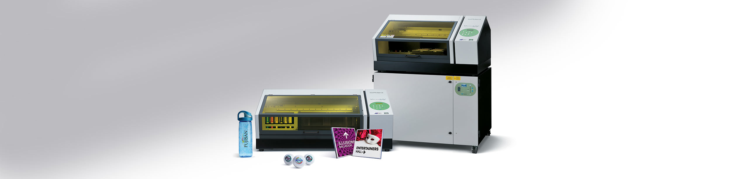 UV benchtop printer by Roland DG