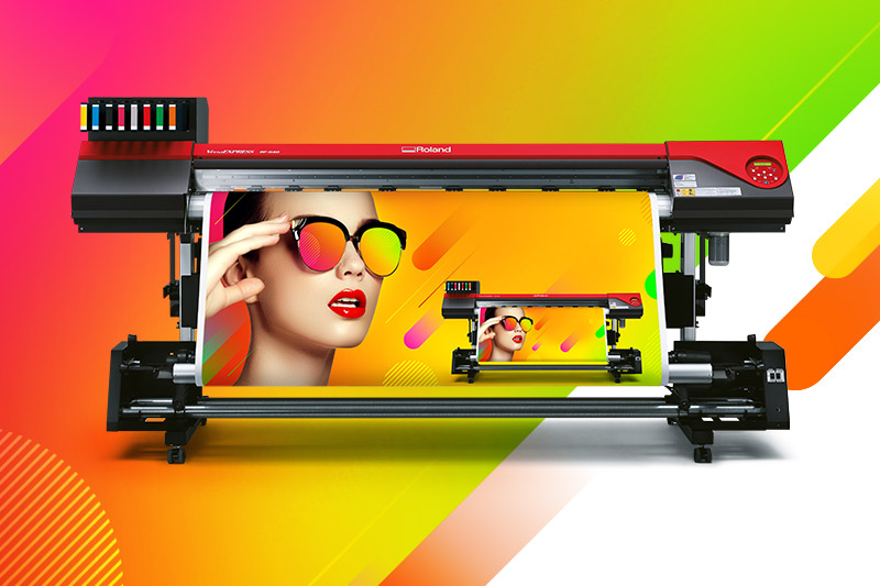 Roland VersaExpress RF-640 8 Colour Printer