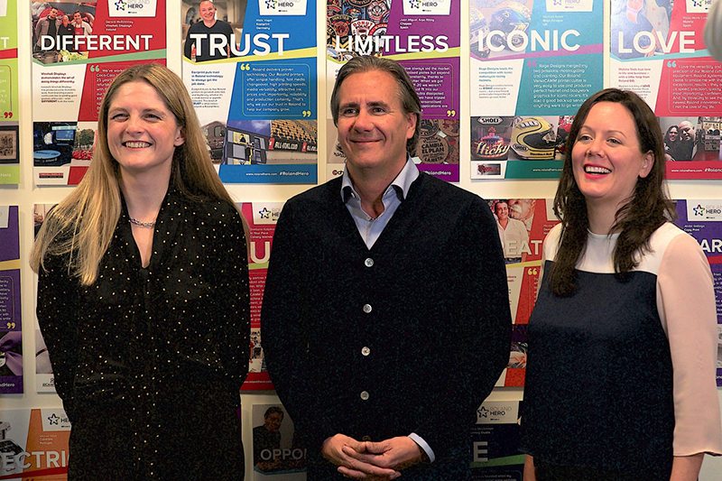 From L-R; Gillian Montanaro, Christian Duyckaerts and Beth Kempton