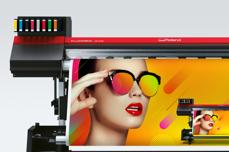 Roland-Drucker VersaExpress RF-640 8 Colour