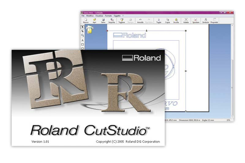 Roland CutStudio-Software