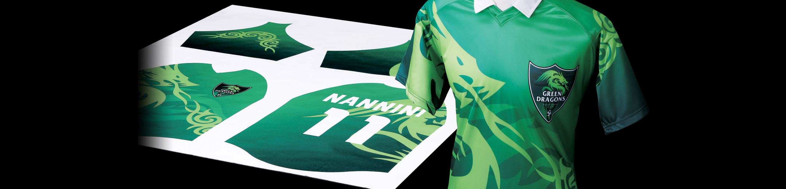 Maillot imprimé en sublimation