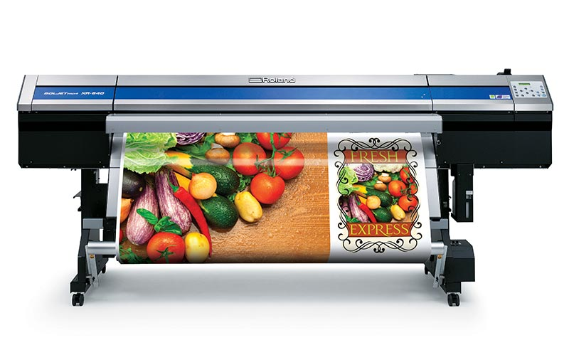 SOLJET Pro 4 XR-640 Large Format Color Printer/Cutter