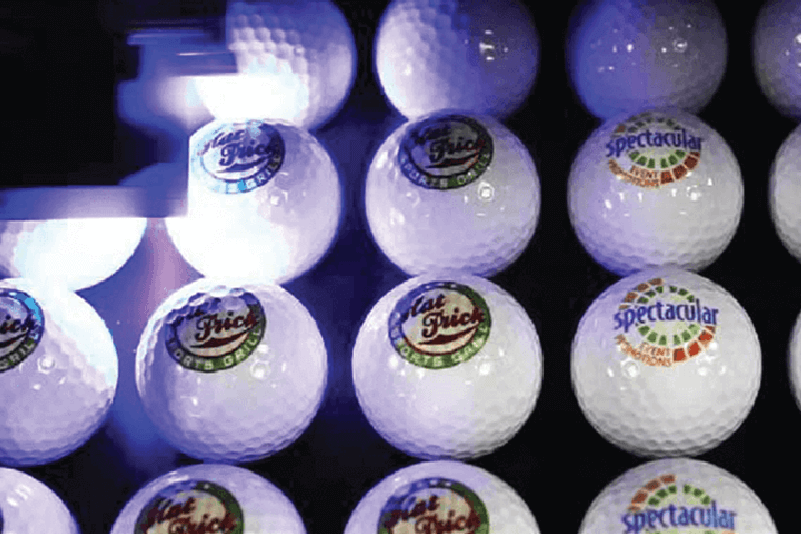 Golf ball printing machine