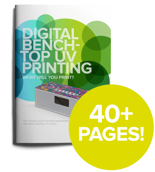 Digital benchtop UV printing guide