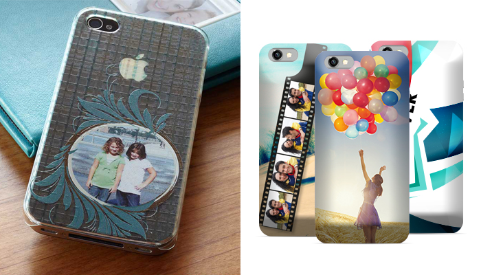 printing customers' photos onto phone cases
