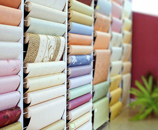 wallpaper applications using wide format eco solvent printers