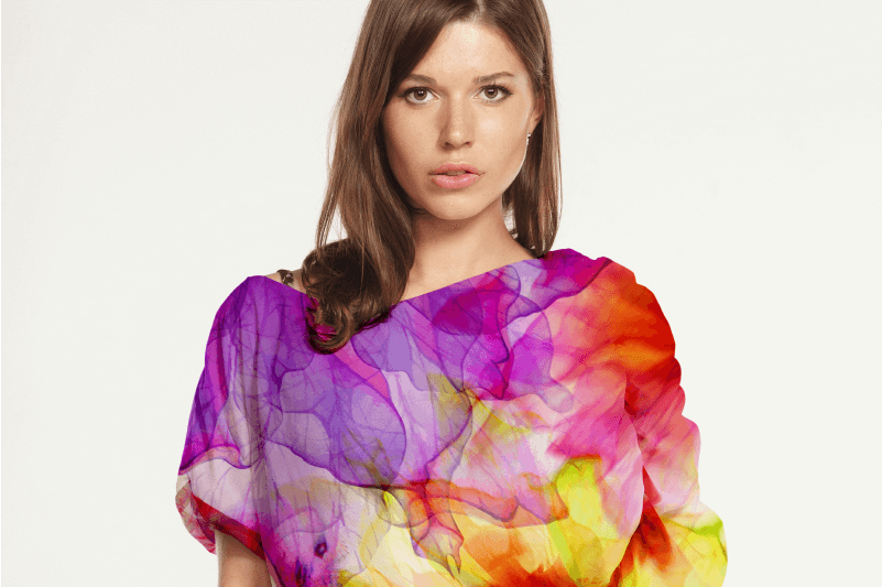 Valentines Day dye sublimation fashion