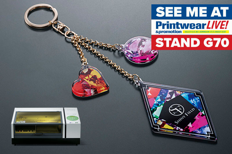 direct printing promo items with UV