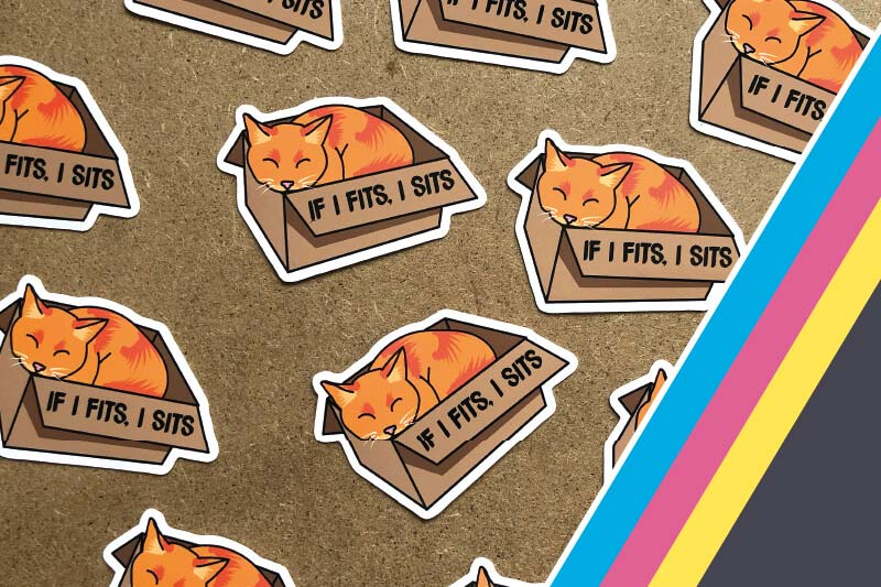 Introduction to Print and Cut stickers and labels