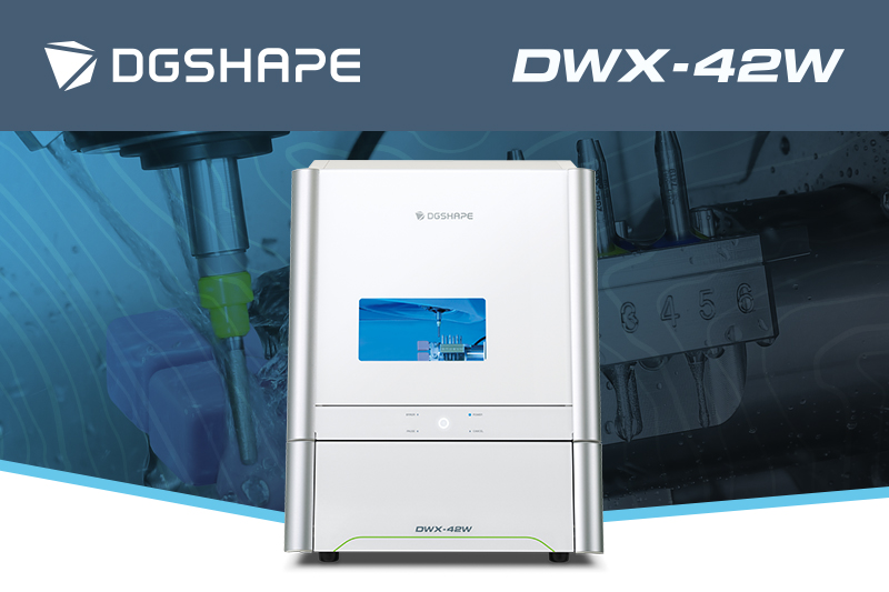 DGSHAPE DWX-42W Wet Milling Machine