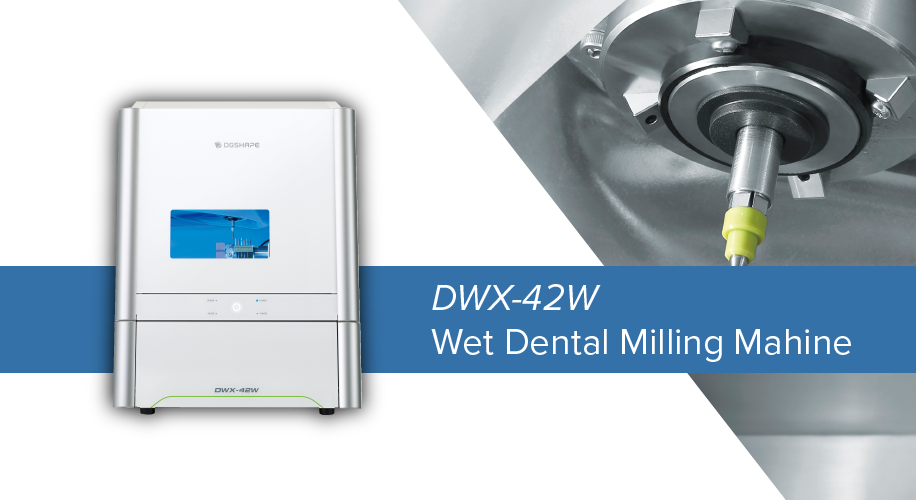 DWX-42W Wet Dental Mill & Spindle