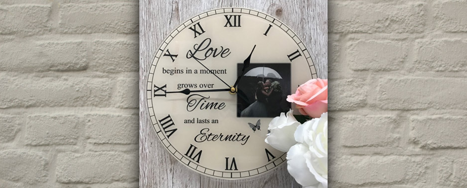 personalised love clock