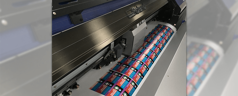 wide format printer cutter printing labels