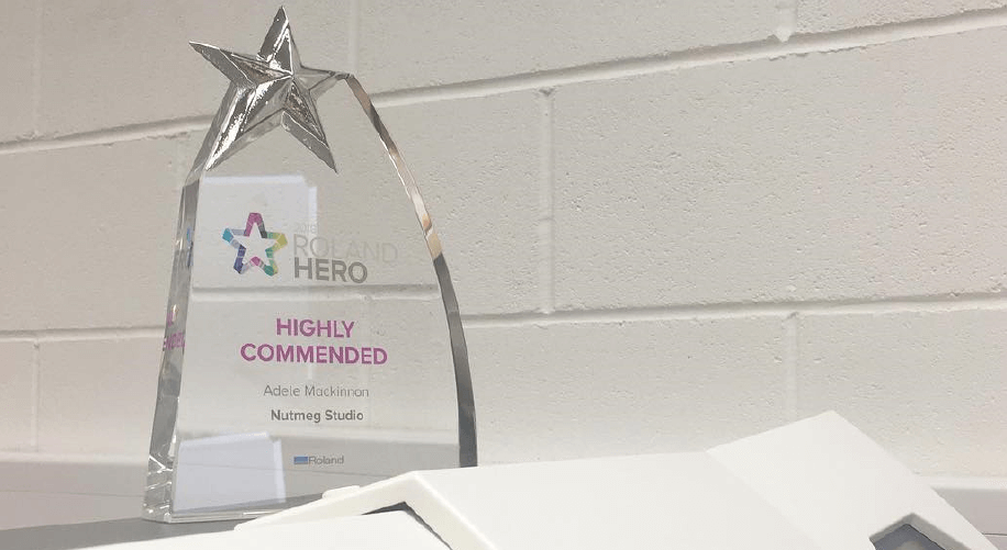 Nugment Wall art were recognised as a highly commended Roland Hero