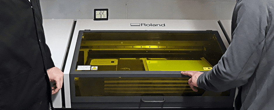 UV LED Printer by Roland installed at Qprint Osona