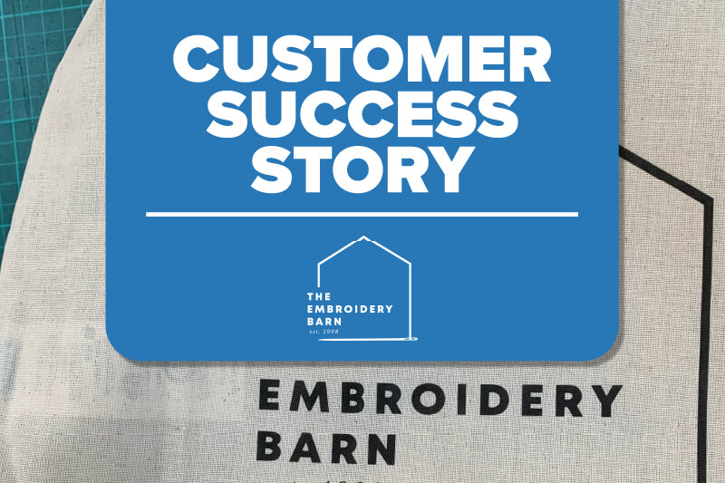 Embroidery Barn Case Study header mobile