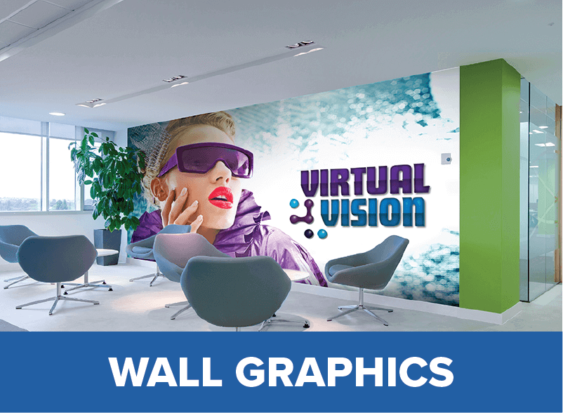 Create wall graphics using our printer cutter