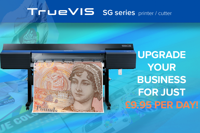 TrueVIS SG Print and Cut Machine Mobile