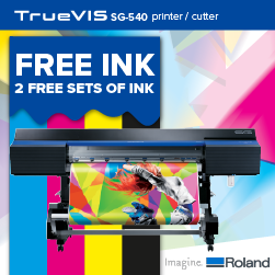 Grab 2 free sets of ink when you purchase our SG printer cutter