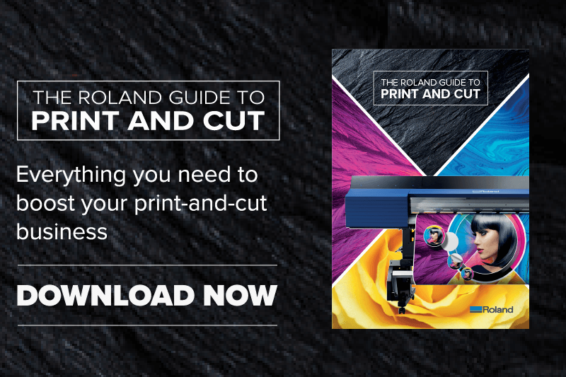 From signage to vehicle graphics, discover the many applications you can create by owning a print and cut device.