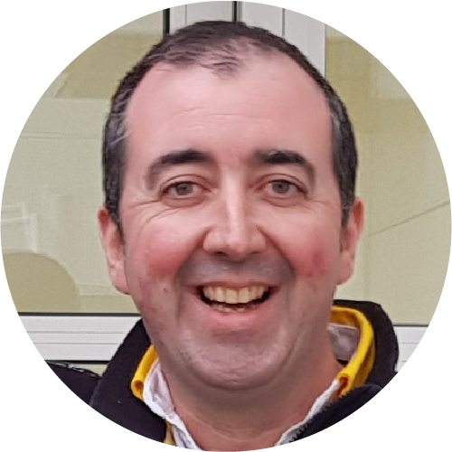 Joe McNamara, Head of Paint and Graphics, Renault F1 Team