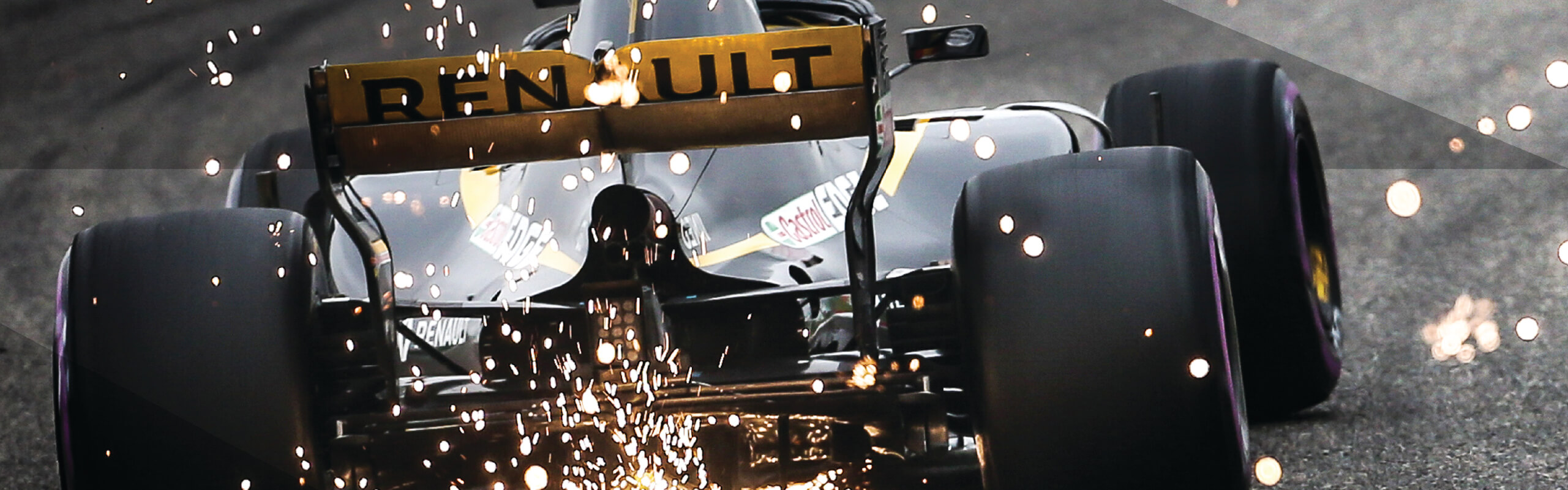Renault F1 team sports focus page and why they choose Roland DG