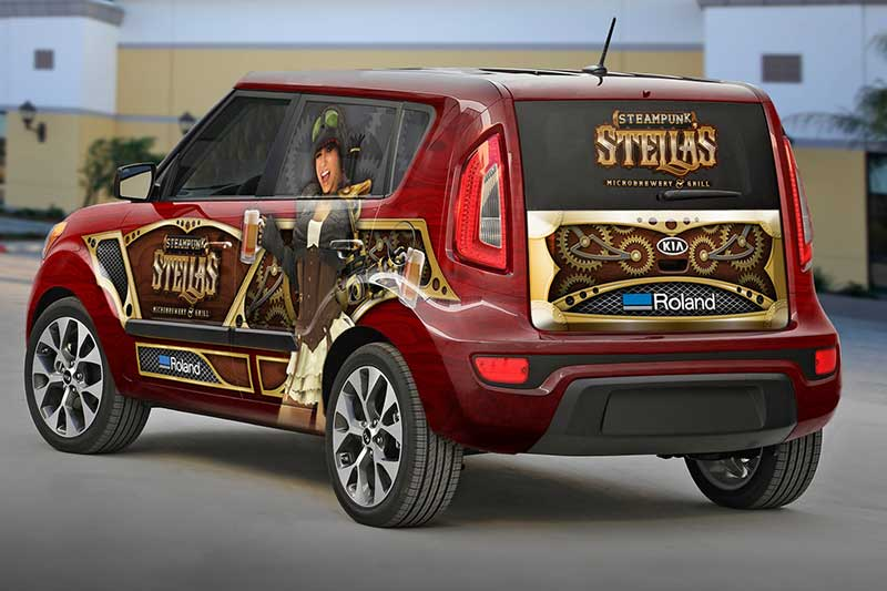 Vehicle Wraps And Decal Printer Cutters