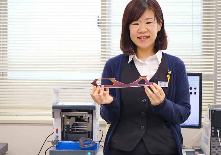 Ayano Sameshima says the METAZA MPX-90 'is easy to use without needing any special knowledge'