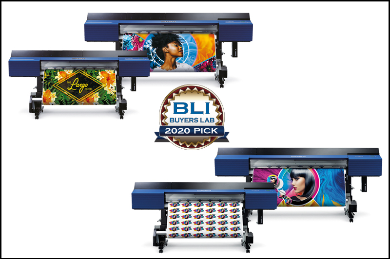 Roland DG's TrueVIS Series Wide-Format Inkjet Printer/Cutters Earn Top Honours in Three Categories from Buyers Lab 2020 Pick Awards