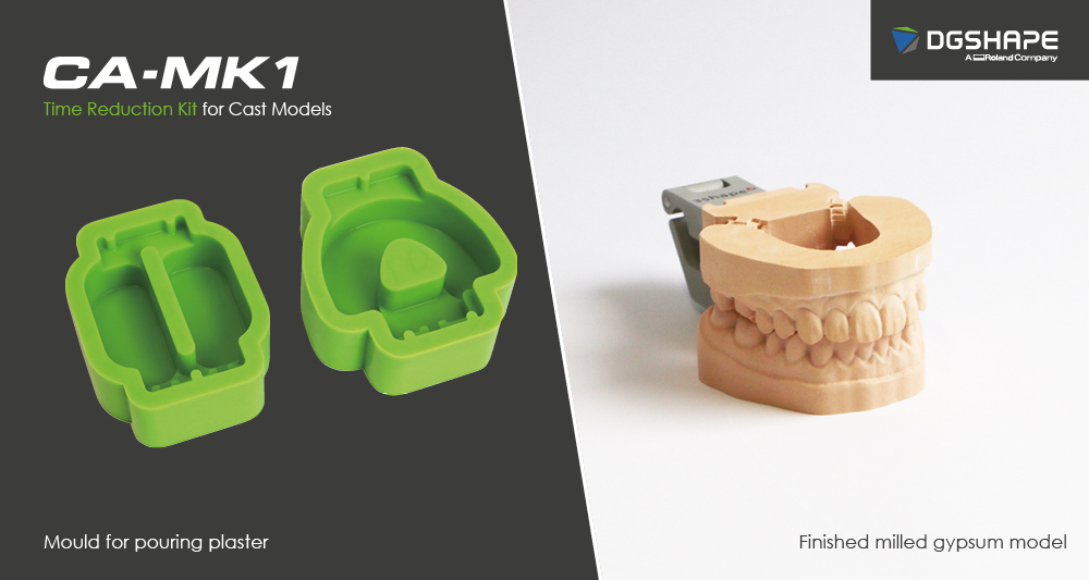 DGSHAPE CA-MK1 Time Reduction Kit for models makes in-house model making even easier and affordable than before