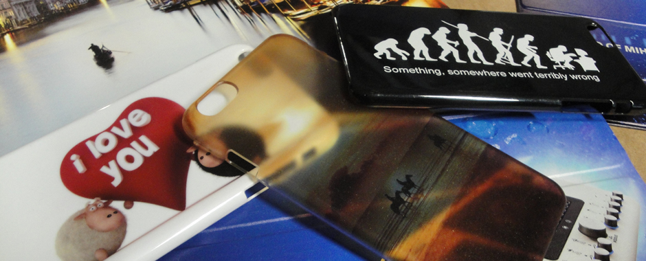 Decorative and customised phone and tablet cases are popular