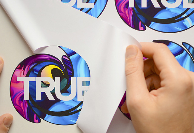 Stickers printed with Roland TrueVIS VG2 Series