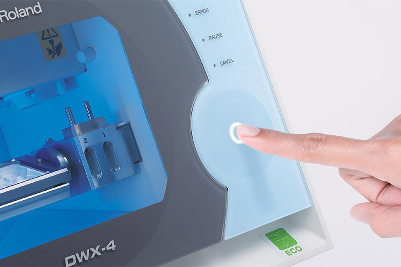 DWX-4 compact dental mill
