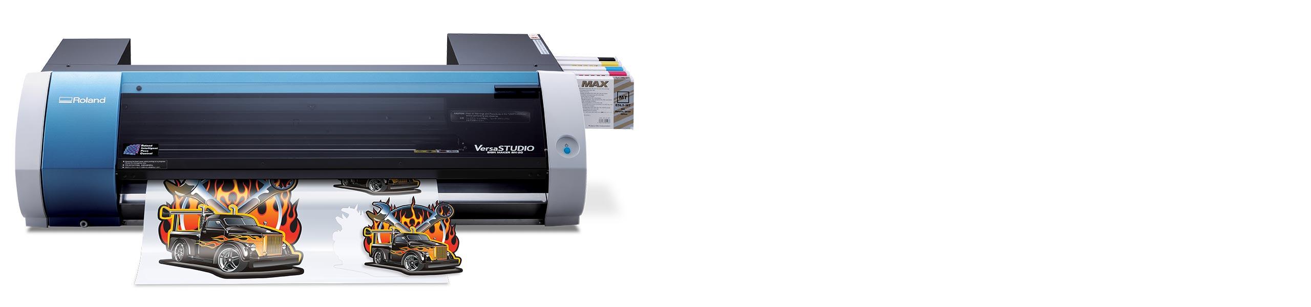 Vinyl sticker printing machine uk