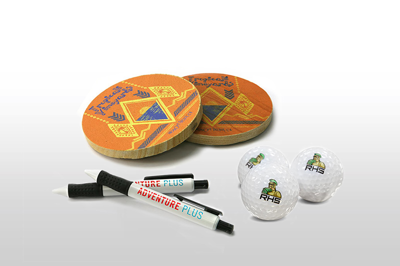 Personalised promotional items printed with VersaUV LEF2-200