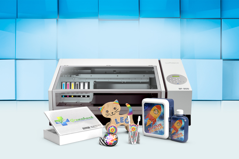 Roland SF-200 Desktop Flatbed Printer
