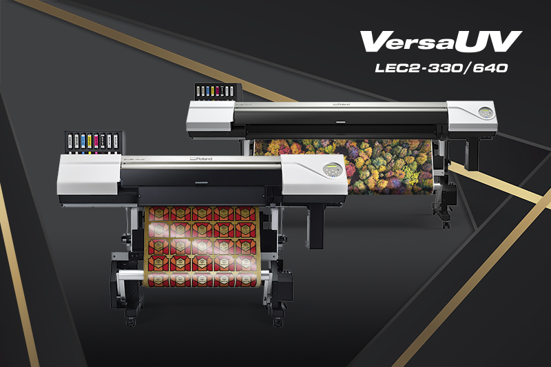 VersaUV LEC2-330, LEC2-640 UV Printer/Cutters