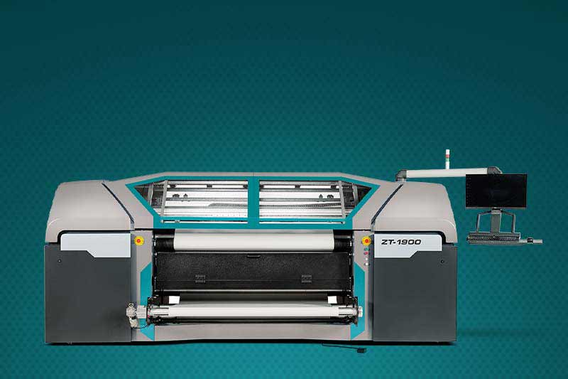 ZT-1900 Dye-Sublimation Printer has a fully protected design for safety reasons