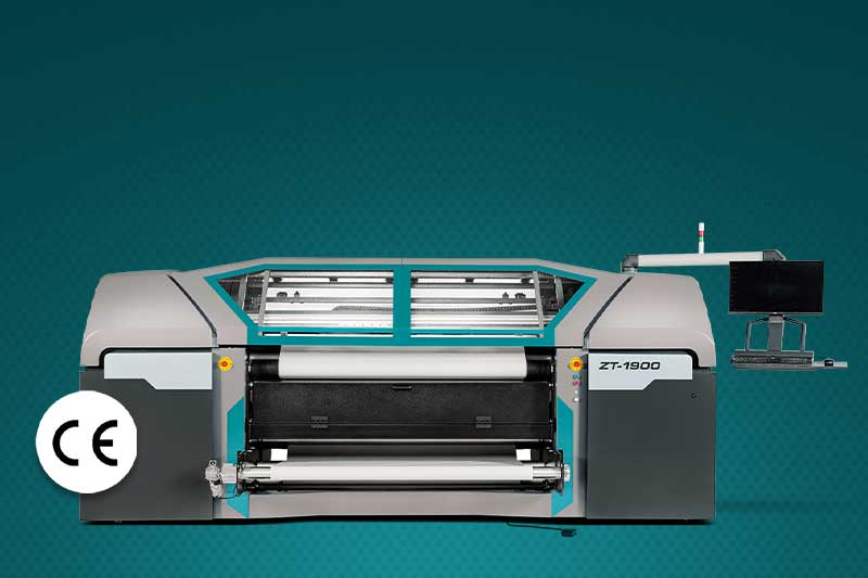The Roland DG ZT-1900 Dye-Sublimation Printer has CE certification