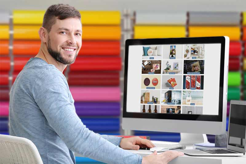 Roland DG PersBiz, the online shop for print businesses to start selling on line