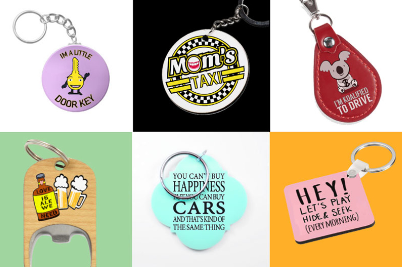 Keyrings are a fantastic way to show your unique personality and for brands to promote themselves