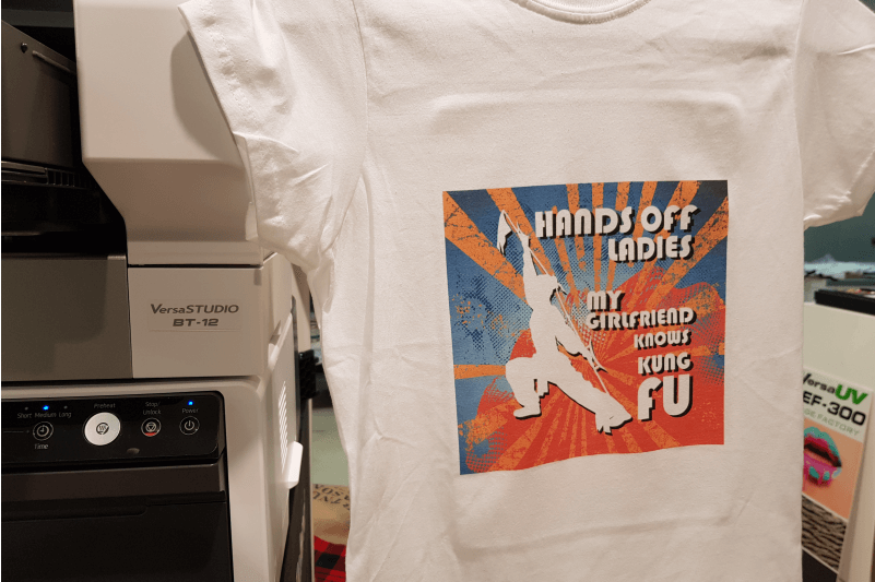 Valentines Day printing directly to tshirt
