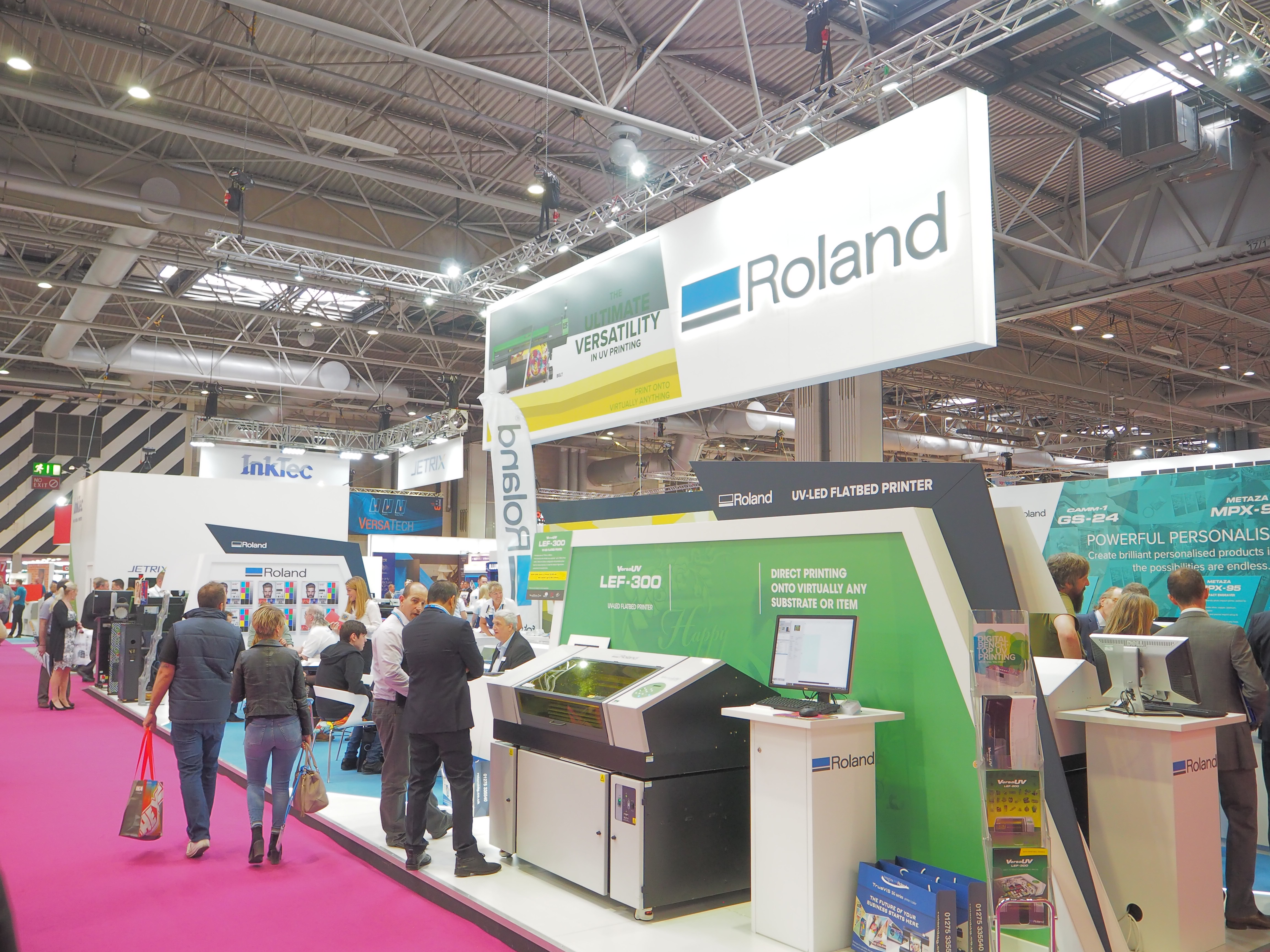 Roland DG at Sign & Digital UK 2018