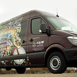 EastPrint vehicle graphic